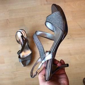 Nina Silver Dress Shoes